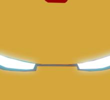 Iron Man Helmet Sticker