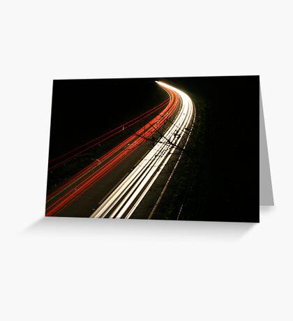 Rush Hour Greeting Card