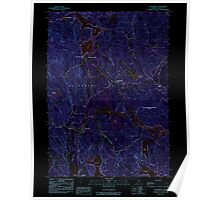 Maine USGS Historical Map Waterboro 103080 1983 24000 Inversion Poster