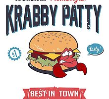 Krabby Patty Gourmet by ItokoDesign