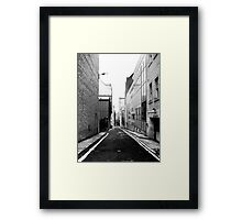 St. Vincent Lane Framed Print