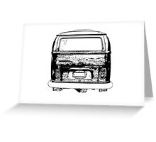 Oval tail lights...  Greeting Card