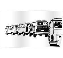VW Convoy Poster