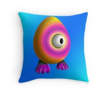 Saturated Egg Man Single Duvet Cover Throw Pillow