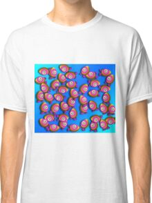 Saturated Egg Man Chaos Duvet Cover Classic T-Shirt