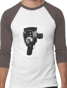 8mm Movie Camera Men's Baseball ¾ T-Shirt
