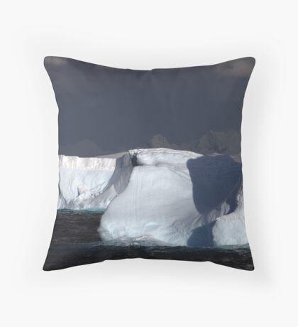 Icebergs, Antarctic Peninsula Throw Pillow