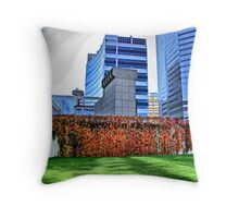 City in Colors Throw Pillow