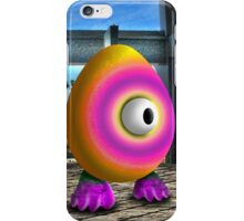 Saturated Egg Man iPhone Case/Skin