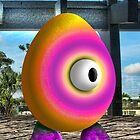 Saturated Egg Man by GolemAura