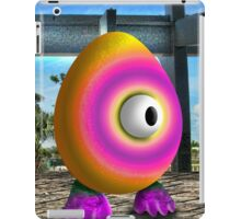 Saturated Egg Man iPad Case/Skin