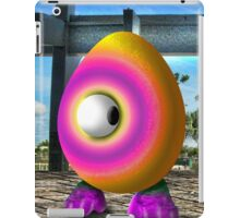 Saturated Egg Man Looking the other Way iPad Case/Skin
