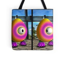 Saturated Egg Man Combined Tote Bag