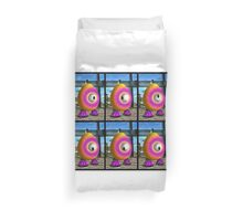 Saturated Egg Man Six Duvet Cover