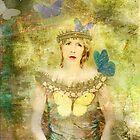 Caterpillar girl by evaverhoeven