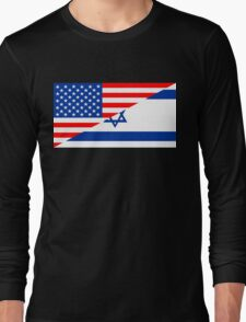 usa israel Long Sleeve T-Shirt