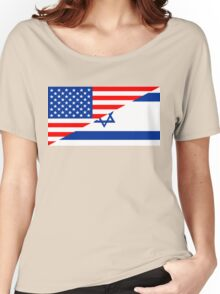 usa israel Women's Relaxed Fit T-Shirt