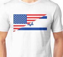 usa israel Unisex T-Shirt