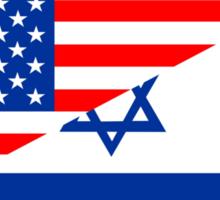 usa israel Sticker