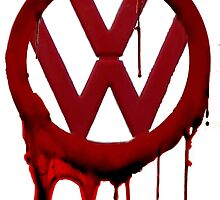 VW Blood drip by Herandi