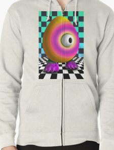 Saturated Egg Man on the Chess Board T-Shirt