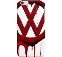 VW Blood drip iPhone Case/Skin