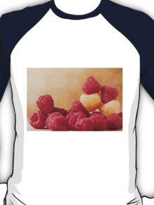 fresh bright red and golden raspberry T-Shirt