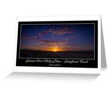 Vineyard Sunrise Greeting Card