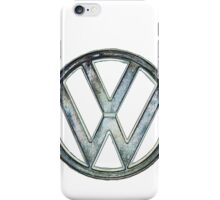 VW Logo coloured iPhone Case/Skin