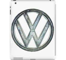 VW Logo coloured iPad Case/Skin