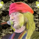 "Willie Nelson singing ""You Are Always On My Mind"" by Sandra Chung"