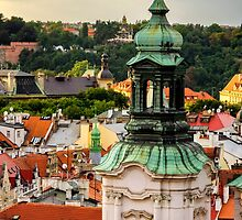 Rooftops of Prague 1 by Pablo Lopez