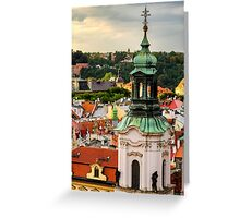 Rooftops of Prague 1 Greeting Card