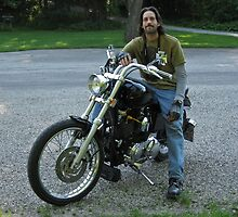 My Sweetie on the Bike by Tracy DeVore