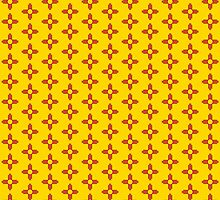 ZIA - New Mexico - small pattern by IntWanderer