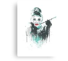 Audrey 2 Canvas Print