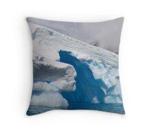 Ice Sculpture, Antarctic Peninsula Throw Pillow