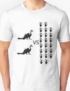 Dragons Versus Ninja Bunnies T-Shirt
