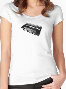 TDK Cassette Women's Fitted Scoop T-Shirt
