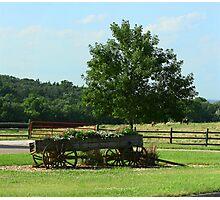 Wagon Country Photographic Print