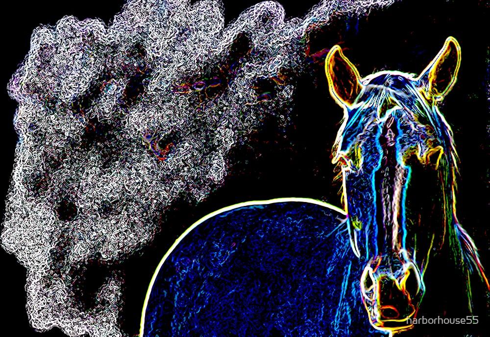 Neon Horse by harborhouse55