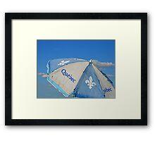 Umbrella Of Québec Framed Print