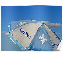 Umbrella Of Québec Poster