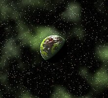 Green Cosmos by dmark3