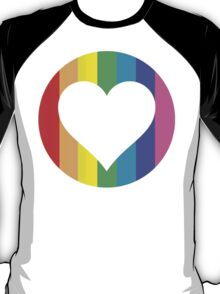 rainbow hearts T-Shirt