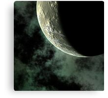 Planet Closeup Canvas Print