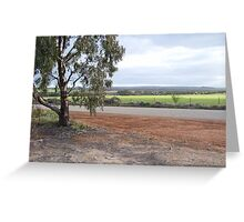 Road of the Wheatbelt Greeting Card