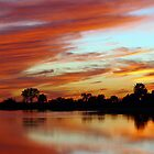 Red Dusk by Charlie Sawyer