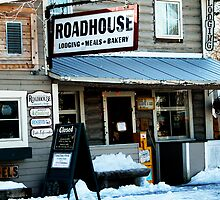 Talkeetna Roadhouse by Virginia Maguire