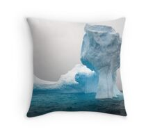 Iceberg 3, Antarctic Penisula Throw Pillow